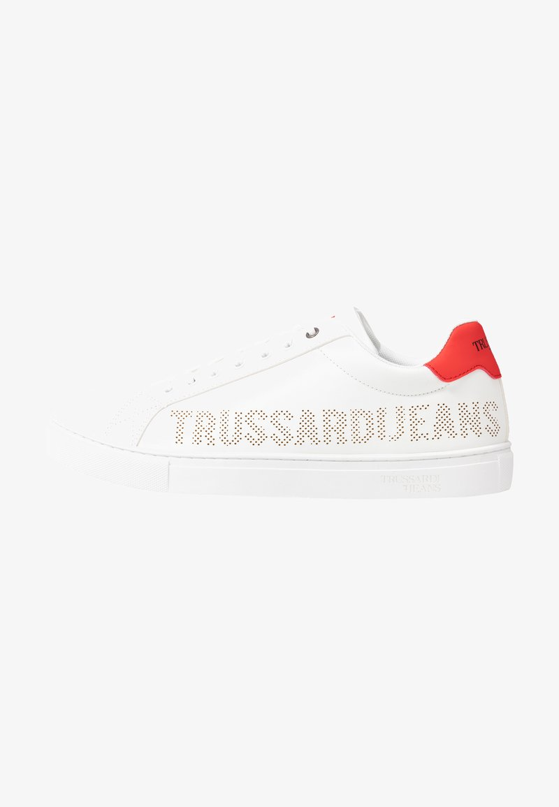 Trussardi Jeans - Trainers - white/red
