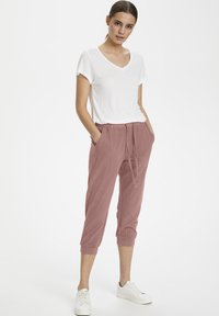 Kaffe - Tracksuit bottoms - old rose - 1