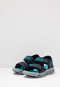 Skechers - HYPNO-SPLASH - Outdoorsandalen - black/turquoise/purple - 2