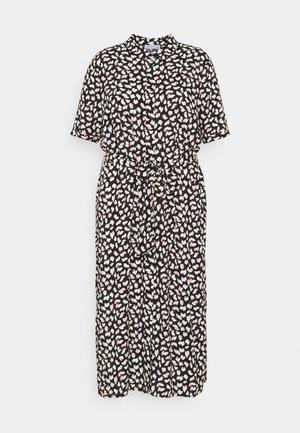 Day dress - black/pink/white