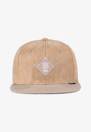 CHECK  - Cap - khaki