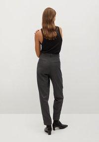 Mango - NAPOLIS - Trousers - gris - 2