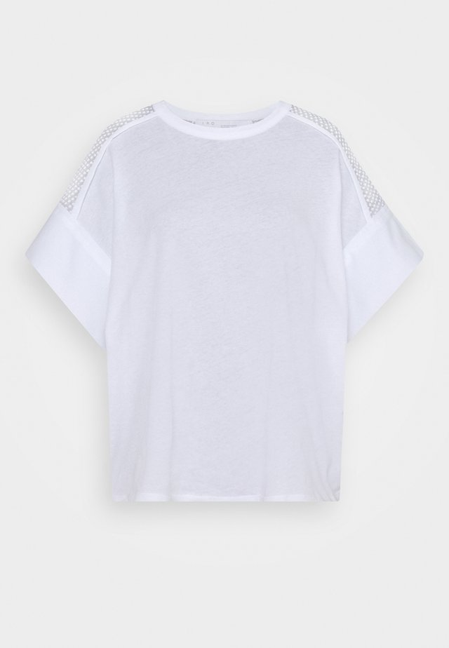 JADYS - Camiseta estampada - white