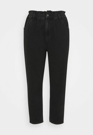 CAROVE ELASTIC LIFE CARROT - Relaxed fit jeans - black