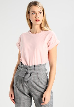 ALVA PLAIN TEE - Basic T-shirt - peachskin