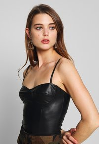 Nly by Nelly - BUSTIER BODY - Topper - black - 3