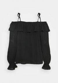 Bruuns Bazaar - CAMILLA RUE BLOUSE - Blouse - black - 1