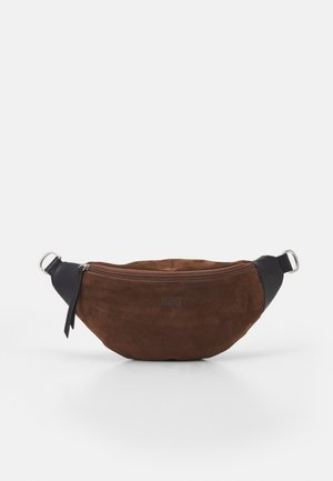 CROSSOVER BAG - Across body bag - brown