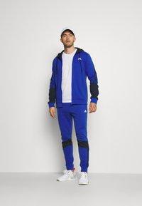 adidas Performance - TRACKSUITS - Träningsset - bold blue/legend ink - 1