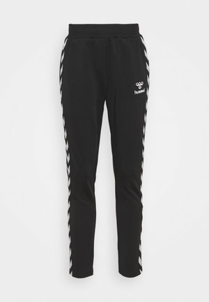 NELLY TAPERED PANTS - Tracksuit bottoms - black