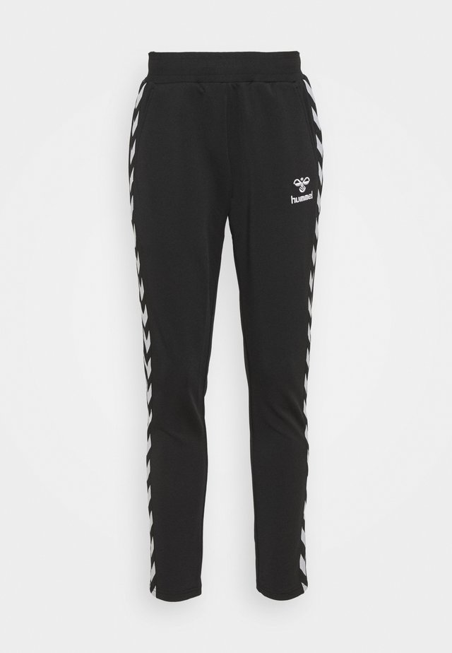 NELLY TAPERED PANTS - Pantaloni sportivi - black