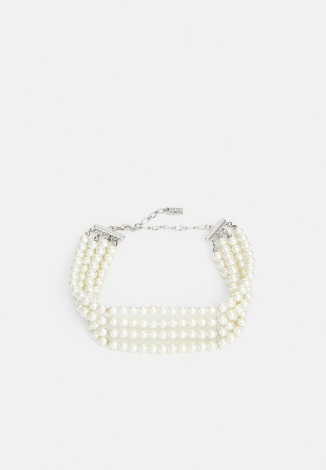 Collana - silver-coloured/pearl