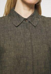Opus - WELIKA - Shirt dress - black - 5