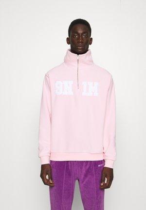 HALF ZIP UP UNISEX - Sweat polaire - pink