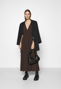 Samsøe Samsøe - QUARTZ LONG DRESS  - Maxi dress - mole - 1