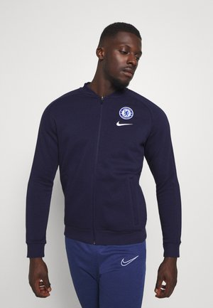 CHELSEA LONDON - Club wear - blackened blue/white