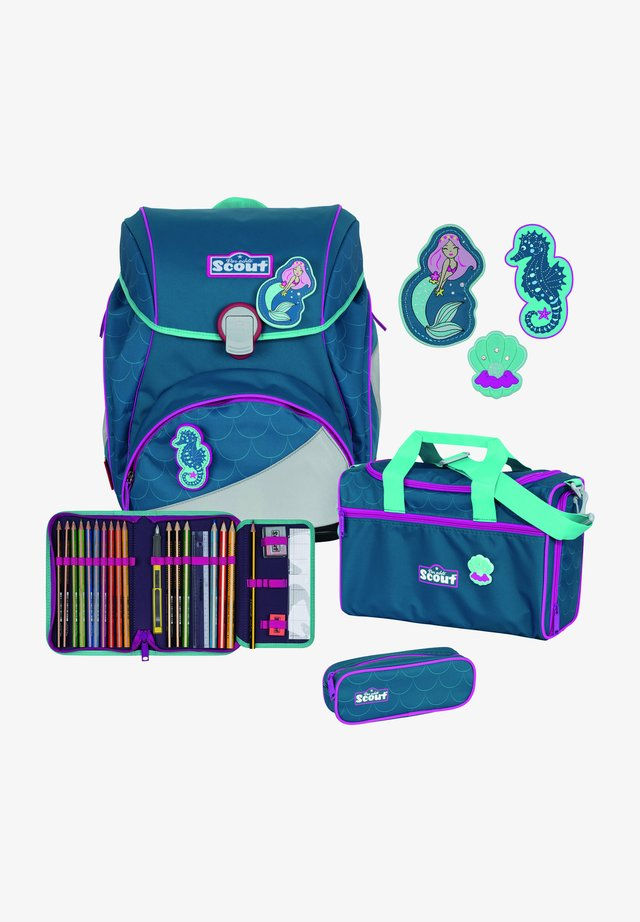 ALPHA SET  - Schooltas set - mermaid