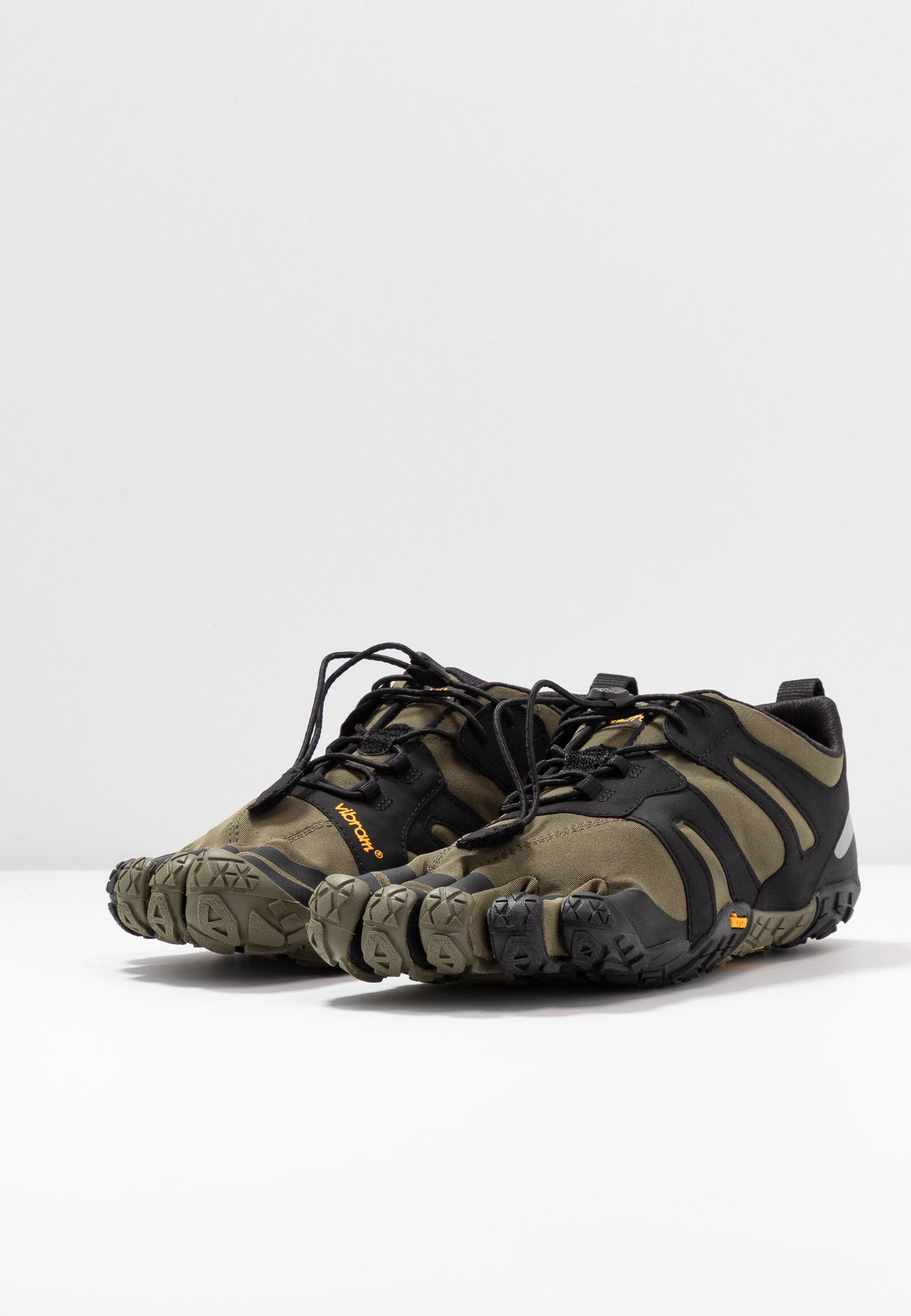 Descuento Particular Calzado de hombre Vibram Fivefingers V-TRAIL 2.0 Zapatillas running neutras ivy/black CScddo