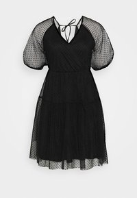 Vila - VIDANNA DRESS - Day dress - black - 3