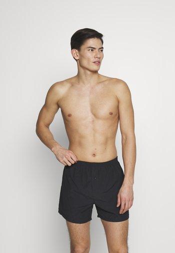 VALENTINES 2 PACK - Boxer shorts - black/dark red