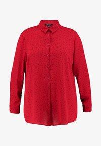 New Look Curves - PRINT - Skjortebluser - red - 4