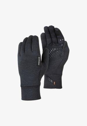 Gloves - black mélange