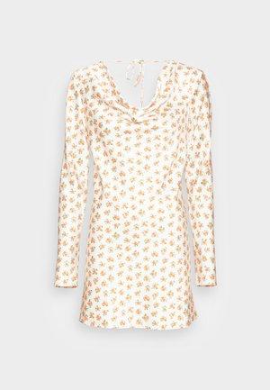 MOLTEN MINI DRESS - Day dress - ecru ditsy