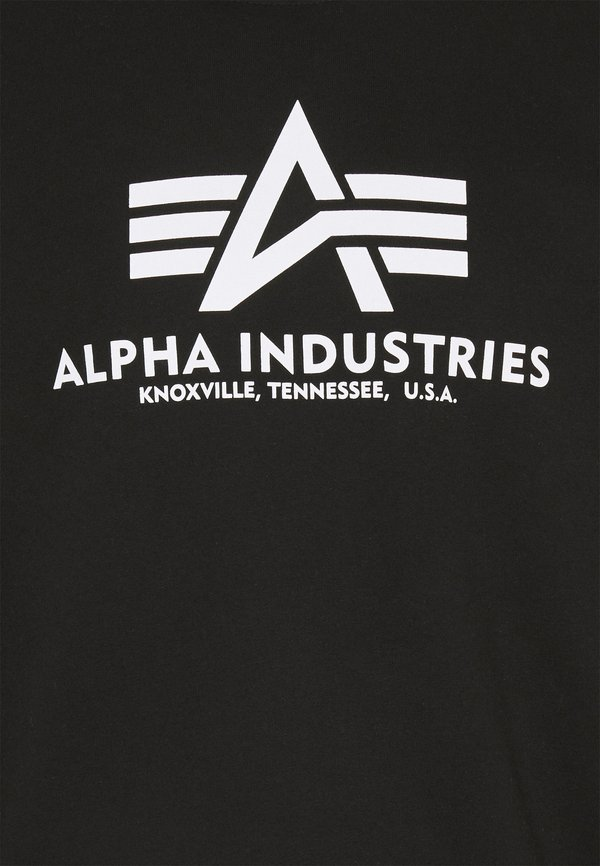 Alpha Industries BASIC - Bluza - black/czarny Odzież Męska FEOA