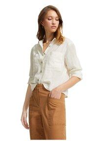 comma casual identity - Button-down blouse - white - 1
