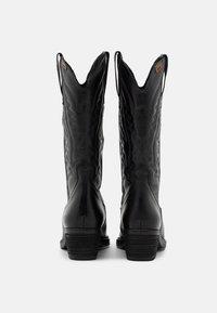 mtng - TEO - Cowboy/Biker boots - black - 3