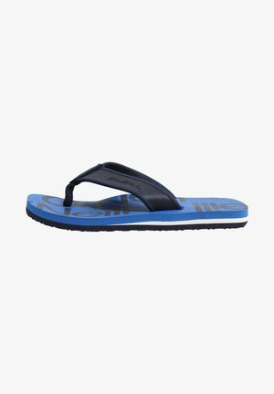 Pool shoes - blue with blue