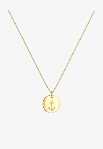 ANCHOR PLATE BASIC - Necklace - goldfarben