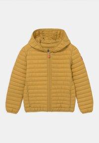 Save the duck - EVAN HOODED UNISEX - Light jacket - ochre yellow - 0