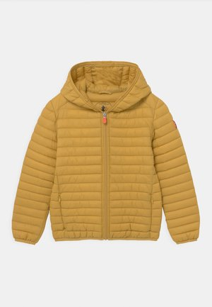EVAN HOODED UNISEX - Lehká bunda - ochre yellow