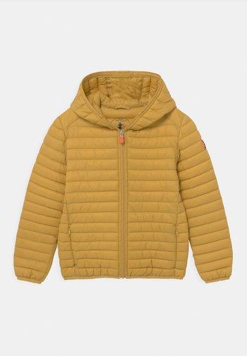 GIGA DONY UNISEX - Winter jacket - ochre yellow