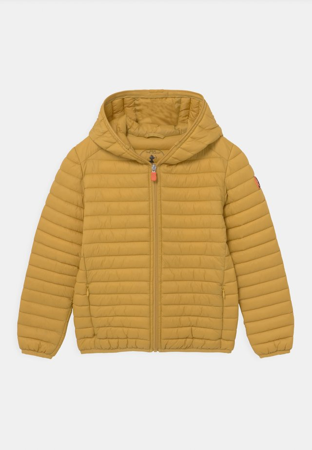 EVAN HOODED UNISEX - Light jacket - ochre yellow