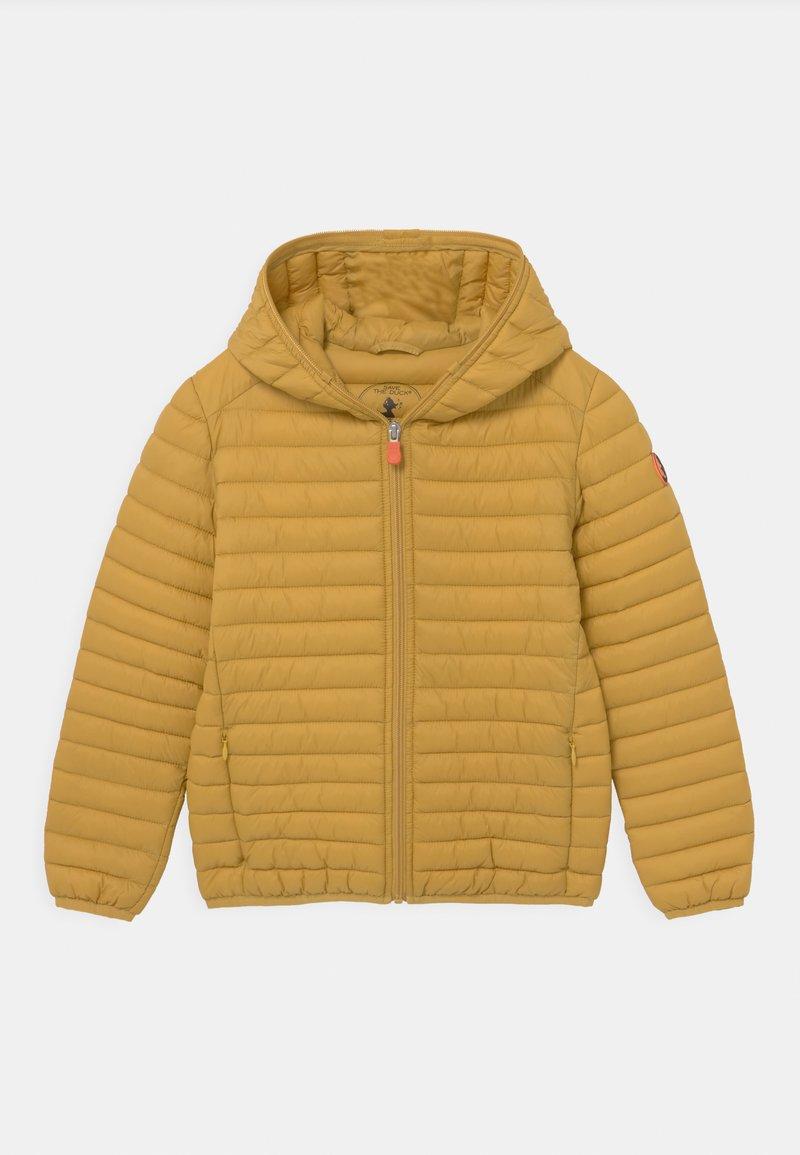 Save the duck - EVAN HOODED UNISEX - Light jacket - ochre yellow