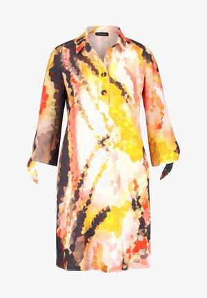 Robe chemise - papaya gemustert