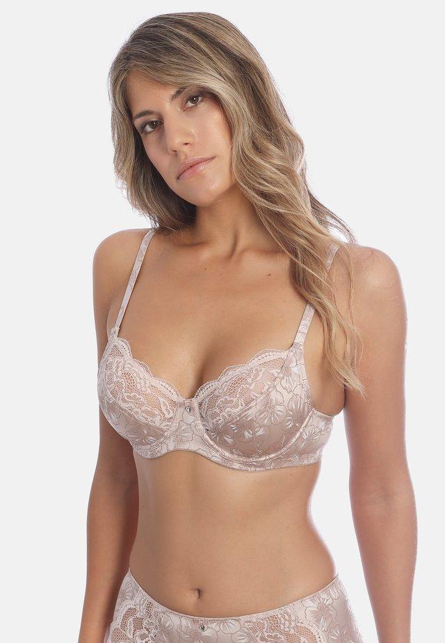 BÜGEL-BH FINE DAY - T-shirt bra - nude