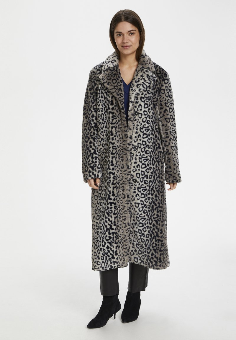 InWear - Classic coat - leo fur