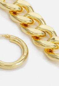 MM6 Maison Margiela - Earrings - gold-coloured - 2
