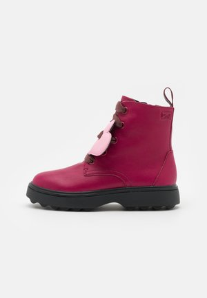 NORTE KIDS - Lace-up ankle boots - beere