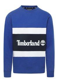 Timberland - CUT & SEW COLORBLOCK - Sweatshirt - surf the web/dark sapphire - 0