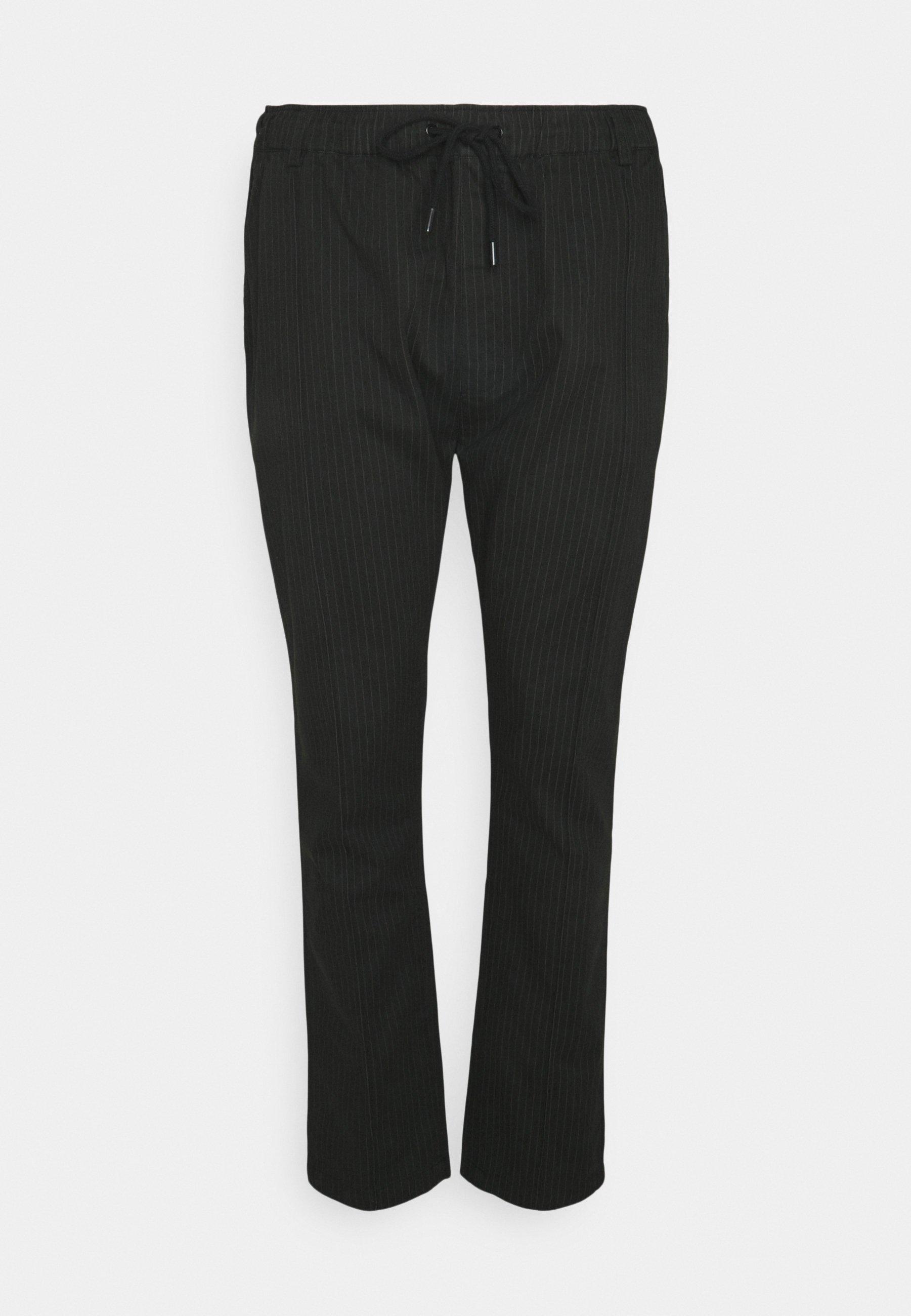 Uomo PINSTRIPE TROUSER BIG & TALL - Pantaloni