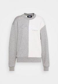 LOUNGE UNISEX - Pyjama top - grey melange