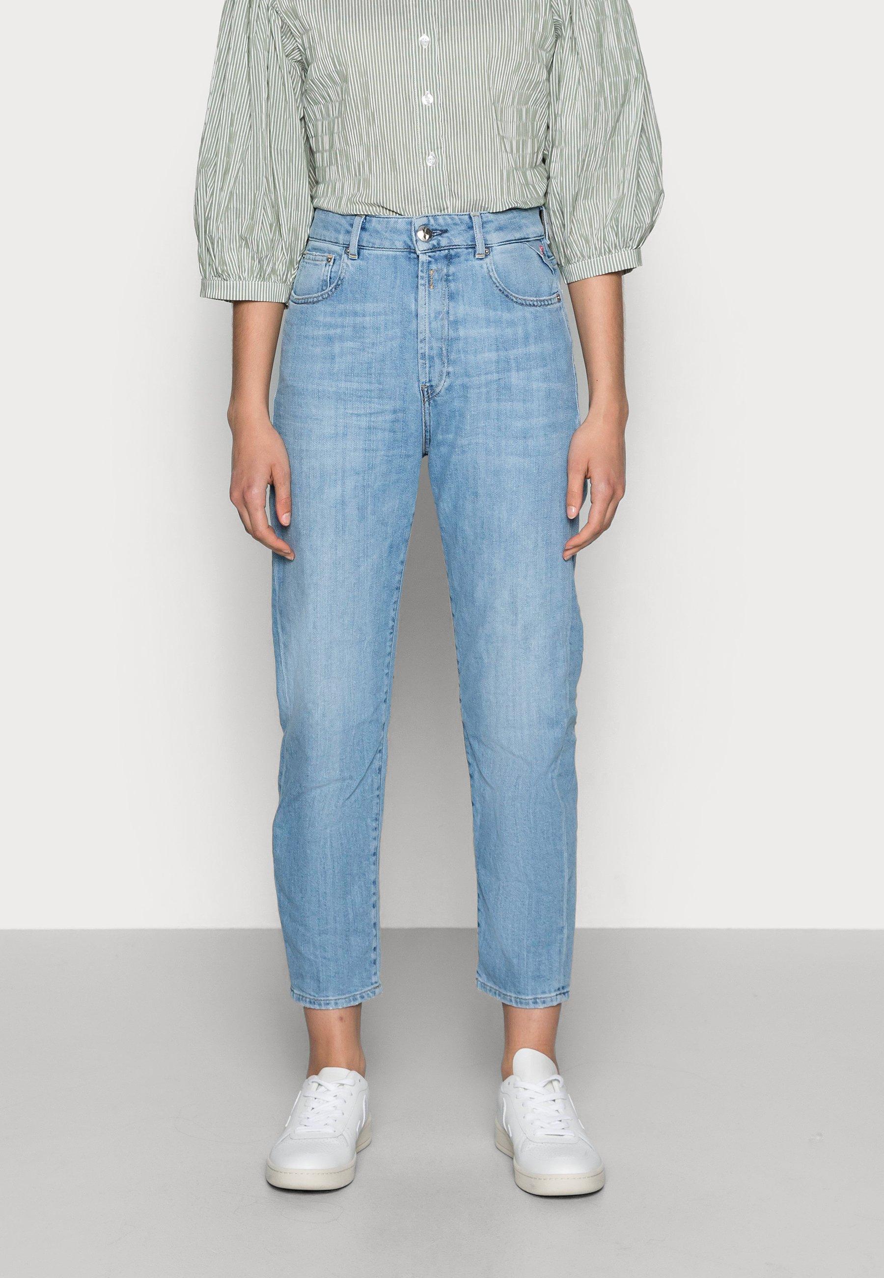 Damer TYNA PANTS - Jeans Straight Leg