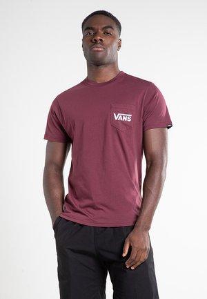MN OTW CLASSIC - T-shirt imprimé - port royale-white