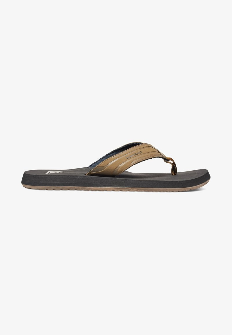 Quiksilver - MONKEY WRENCH  - T-bar sandals - tan - solid