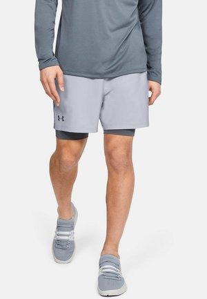 2-IN-1 - Korte sportsbukser - gray