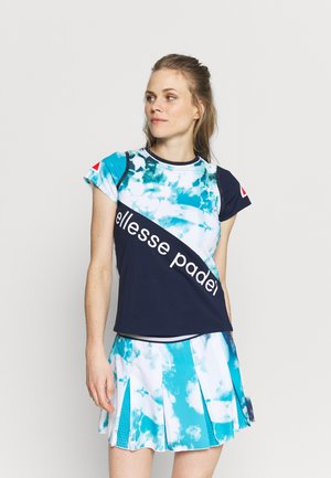 REMI TEE - Print T-shirt - navy